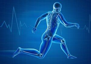 skeleton jogging