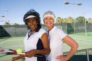 tennis older women